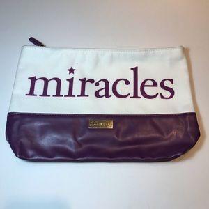 Philosophy miracles cosmetic bag NWOT